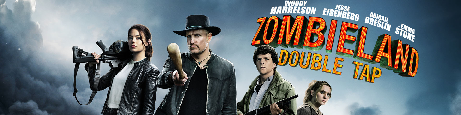 Zombieland Double Tap banner
